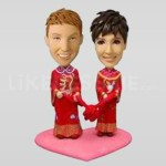 Asian Style Bobbleheads