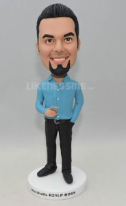 Businessman bobblehead