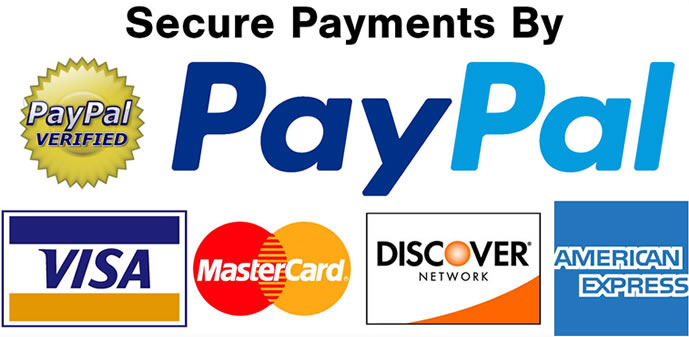 credit card and paypal