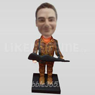 Bobble Head Doll Hunter-11040
