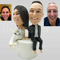 Wedding cake topper personalized-10642