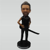 Personalized Custom Guitar or Bass bobbleheads