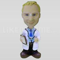 Bobble Head Doll Man doctor-11069