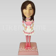 Maid Bobble Head Doll Doll-11100