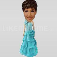Bobble Head Doll Bridal Party 2-11109