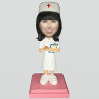 Personalized custom nurse bobbleheads