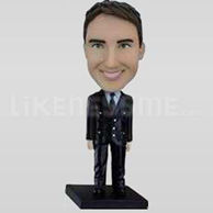 Custom Bobblehead Business Executive-11124