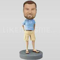 Custom Bobblehead Shirt Shorts w46-11128