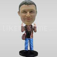 Custom Bobblehead Peace Sign-11149