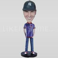 Custom Bobblehead Man Casual 11-11197