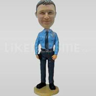 Cheap police bobbleheads -11234