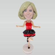Custom dancer bobbleheads