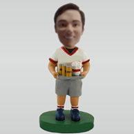 Custom Watching the World Cup bobbleheads