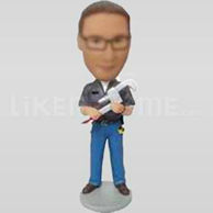 Custom bobbleheads cheap -11265