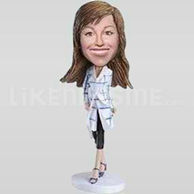 Custom Bobblehead Woman Outfit 8-11349