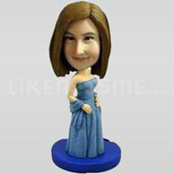 Custom Bobblehead Woman Outfit 10-11351