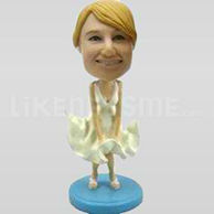 Custom Bobblehead Woman Outfit 11-11352