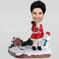 Custom Bobblehead Santas Helper-11367