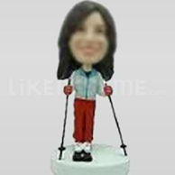 Custom Bobblehead Woman Casual 11408-11409