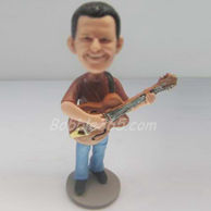 Personalized Guitar bobbleheads