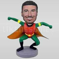 Custom Bobblehead Super Hero 11450-11451