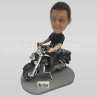 Custom Bobblehead Motorcycle w58-11143