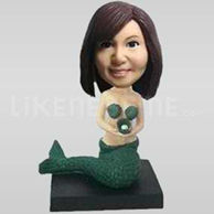 Custom Bobblehead Mermaid-11492