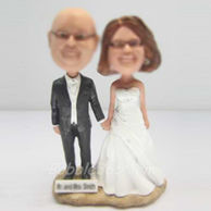 Personalized Custom Wedding bobble head dolls