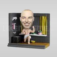 Custom Bobblehead Man Bathtub-11500