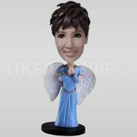 Custom Bobblehead Angel-11502