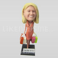 Custom Woman Casual  Bobblehead 11415-11416