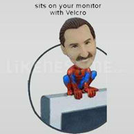 Computer Monitor Bobble Head Doll Spidy-11562