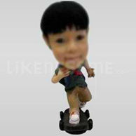 Custom Bobblehead Child Skateboard-11626