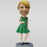 Custom Bobblehead Little Girl-11640