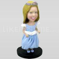 Cute Flower Girl Bobblehead-11654