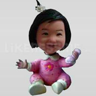 Bobble Head Doll Little Baby 1-11656