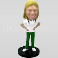 Female Physician Bobblehead-11692