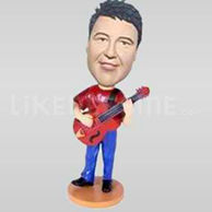 Guitar Player Bobblehead-11704