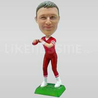 Football Quarterback Bobblehead-11708