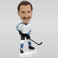 Personalized Hockey Player Bobblehead-11712