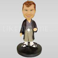 Asian Style Clothing Bobblehead-11718