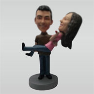 Custom weet wedding bobbleheads