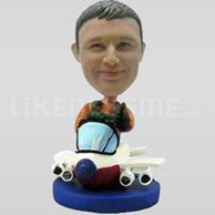 High Flying Pilot Bobblehead-11747