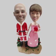 Custom Special wedding cake bobbleheads