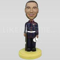 Marine Uniform Bobblehead-11805