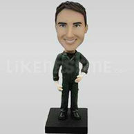 Soldier Pilot Bobble Head Doll-11852