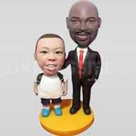 Father and Son Bobblehead dolls-11895