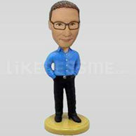 Casual Handsome Personalized Bobblehead-11907
