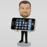 Personalized iPhone Holder Bobblehead-11928