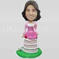 Custom fashion casual bobbleheads doll